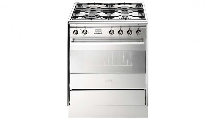 Smeg 60cm Gas and Electric Freestanding Cooker - Freestanding Cookers - Appliances - Kitchen Appliances | Harvey Norman Australia