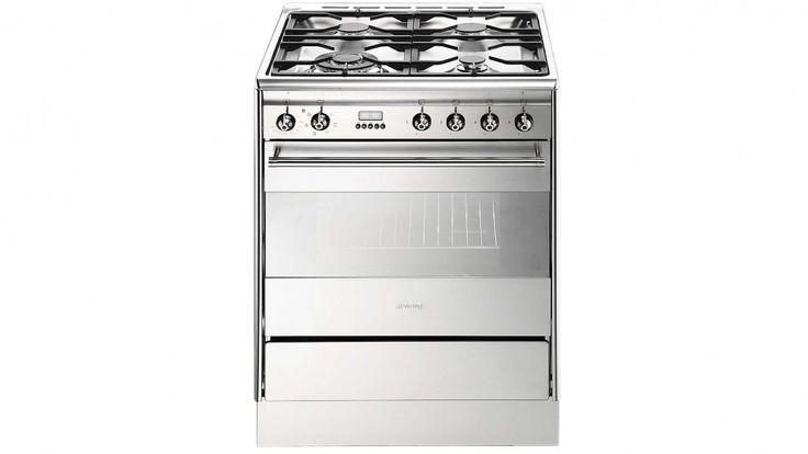 Smeg 60cm Gas and Electric Freestanding Cooker - Freestanding Cookers - Appliances - Kitchen Appliances | Harvey Norman Australia