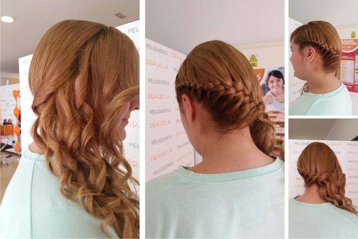peinados trenzas y recogidos en pravela peluqueros peinados trenzas y recogidos pinterest