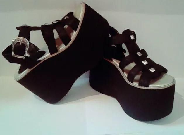 sandalias zapatos plataforma franciscana moda verano 2017