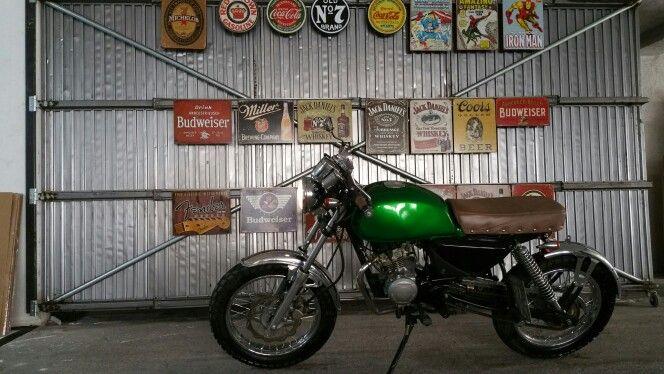 Cafe racer boxer bajaj 125cc