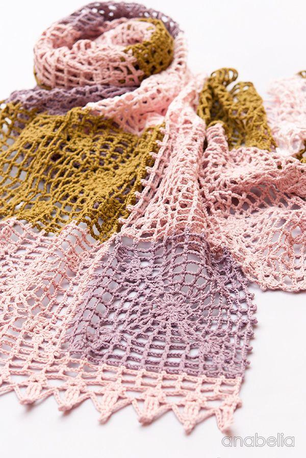 Die besten 17 Bilder zu Crocheted Scarves, cowls, shawls and ...