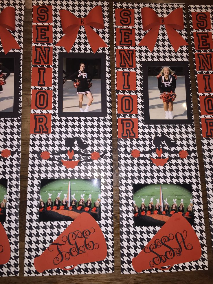Senior Cheerleader Locker decor