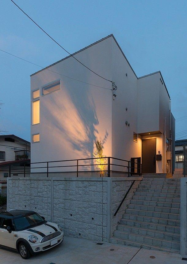 今 憧れるのはシンプルおしゃれな白い壁の家 スタイリッシュな白い