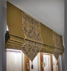 Картинки по запросу римские шторы с фигурным краем