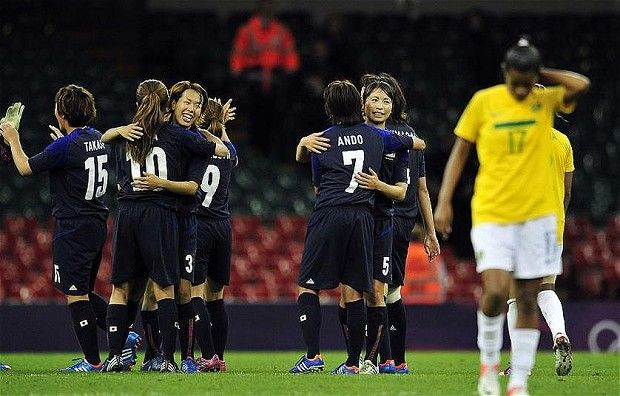 http://www.MilitaryGradeNutritionals.com/blog  London 2012 Olympics: Brazil make shock exit from women's football event after losing to Japan 2-0