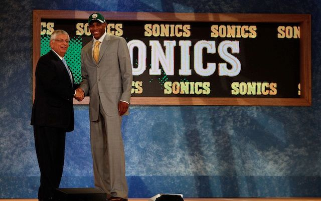 Russell Westbrook, the last Sonic draft choice.