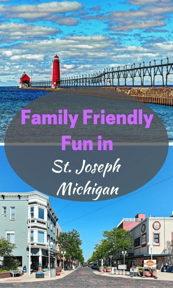 Family Friendly Fun in St. Joseph Michigan