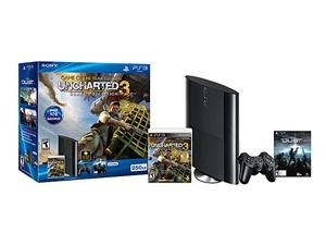 Sony Playstation 3 250GB Bundle w/Uncharted 3 GOTY and Dust 514 Voucher