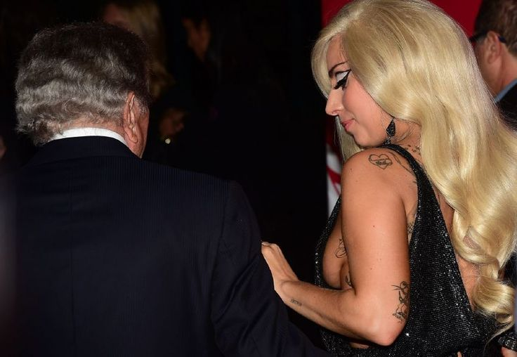 Lady Gaga and Tony Bennett - 2015 Musicares Honoring Bob : Global Celebrtities (F) FunFunky.com