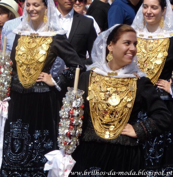 Brilhos da Moda: O Ouro Saiu à Rua na Festa da Senhora da Agonia