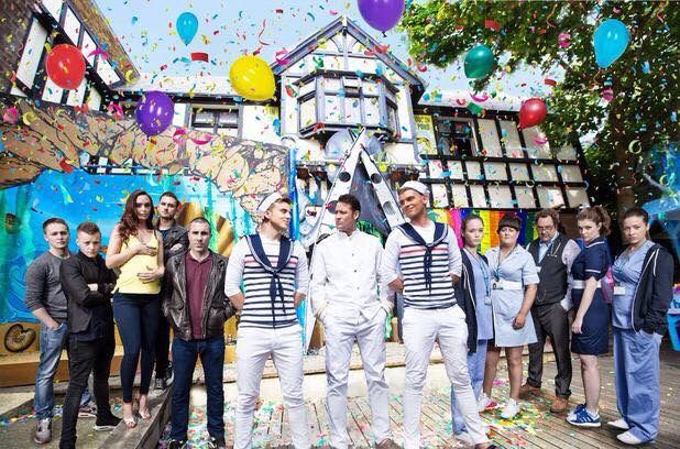 Ste and Harry in Hollyoaks
