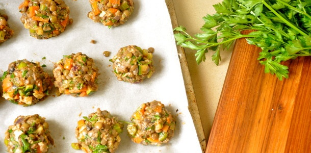 Veggie Balls - Ten Thousand Tastebuds