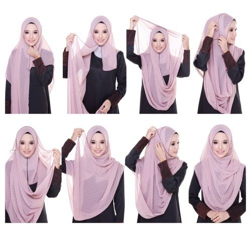 This simple and easy hijab tutorial will help you get a full coverage on your chest area, it's quite simple, modest and look absolutely beautiful, Follow the steps below to get the final result 1. Place the hijab on…