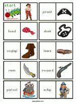 Leesrups Piraten - 20 woorden