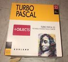 Turbo Pascal 5.5 Compiler Object-Oriented Programming MS-DOS Borland OOP