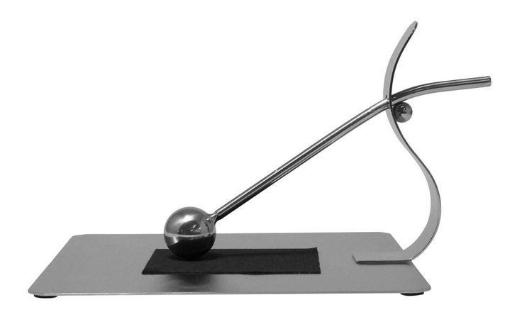JustNile Modern Napkin Holder - Stainless Steel Gripping Ball Small
