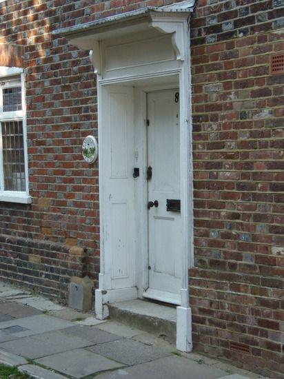 Altijd leuk zo'n voordeur. Rye. Engeland.