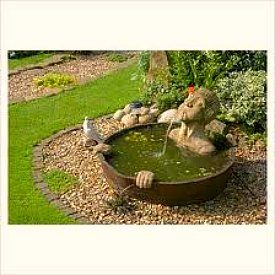 LOL - this water feature cracks me up!