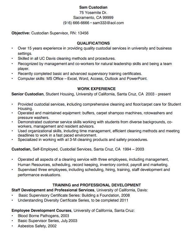 custodian resume sample - http://exampleresumecv.org/custodian-resume-sample/