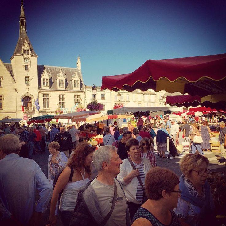 Market in Libourne #france #frenchmarket #bordeaux #winetours