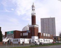 Birmingham Central Mosque, Highgate, Birmingham