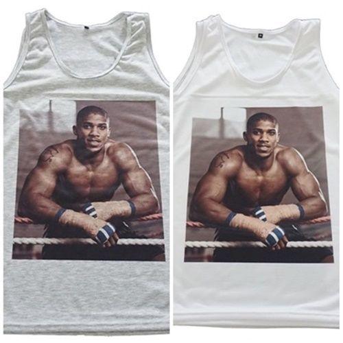 Anthony-Joshua-Boxing-Gym-Training-Vest-Tank-Top-Singlet-T-Shirt-Raglan-Dress