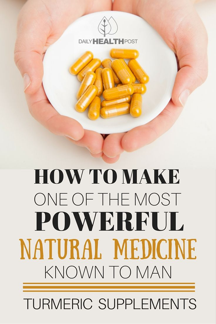 How to Make One of The Most Powerful Natural Medicine Known To Man – Turmeric Supplements