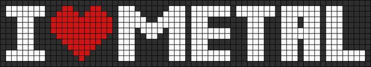 Alpha Friendship Bracelet Pattern #12339 - BraceletBook.com