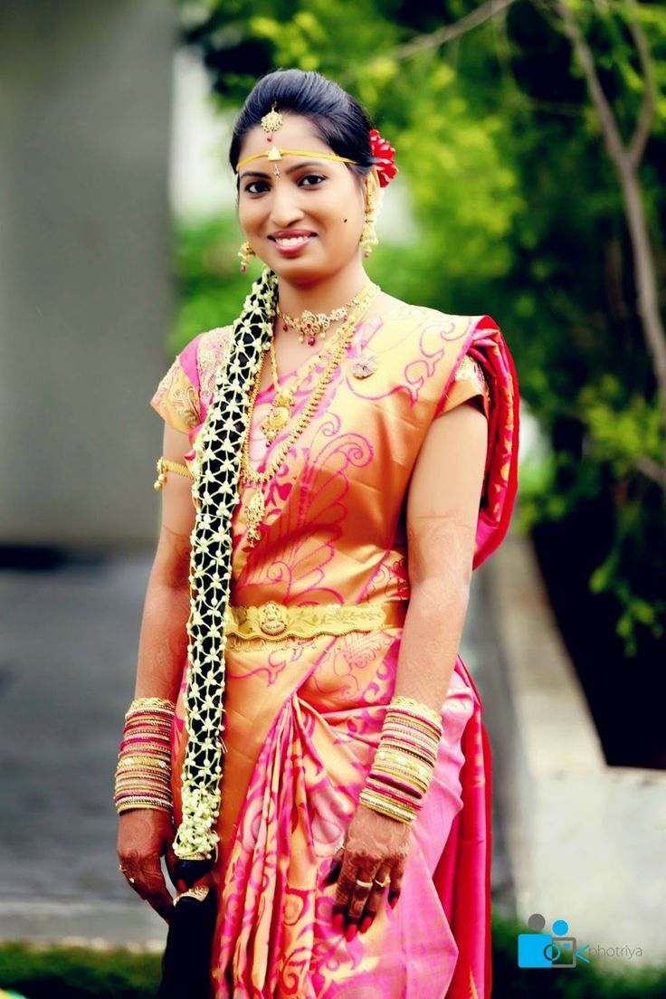 Telugu Wedding Bride Hairstyles
