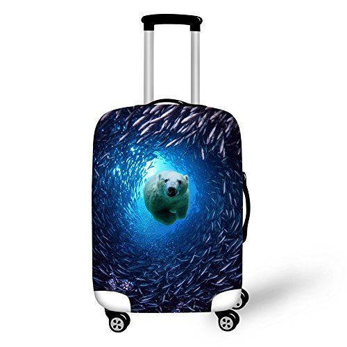 66c1e8b2c2 2015 Newest Tropical Fish Luggage Protective Cover For Inch Suitcase  Elastic Travel Luggage Dust Covers Ocean Animal Cover