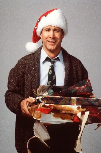 """Christmas Vacation...a classic!!!!  favorite scene....""""Clark's temper tantrum over the xmas lights"""""""