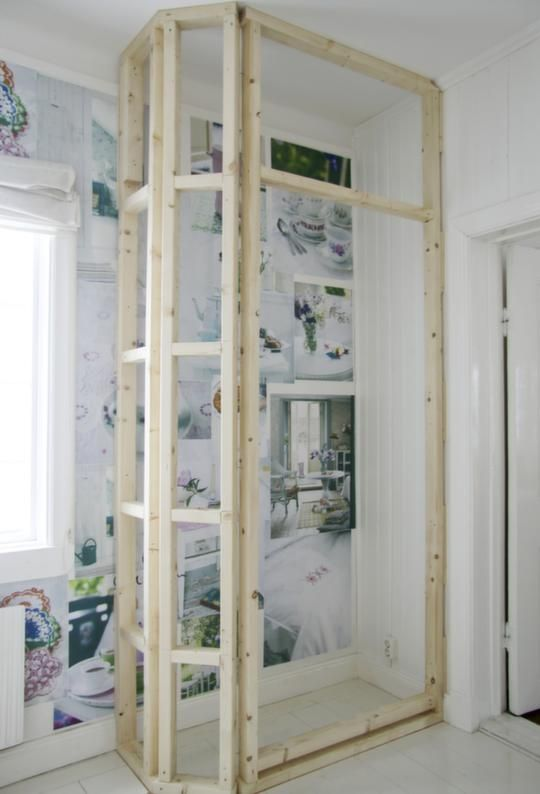 Bygga garderob