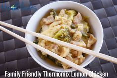 Family Friendly Thermomix Lemon Chicken
