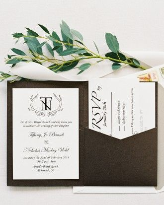 """See the """"Bride and Groom Lines"""" in our 8 Details to Include When Wording Your Wedding Invitation gallery"""