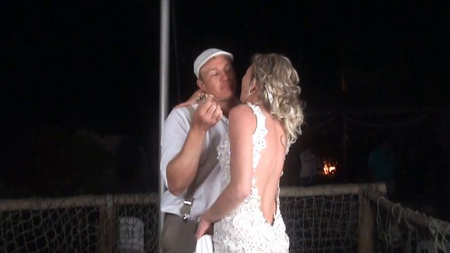 Wow this has to be one of the most amazing slow-mo video's yet - Congratulations to the awesome couple Francois and Karlien who were married 4th October 2014 at the gorgeous Strandkombuis in Yzerfontein.  The weather was perfect and the day absolutely great.  Karlien was a beautiful bride and the whole day just was the perfect beach wedding.  Ending off the evening with the slow-mo booth and dancing was so much fun - thanks to all the guests and couple who participated and made this ...