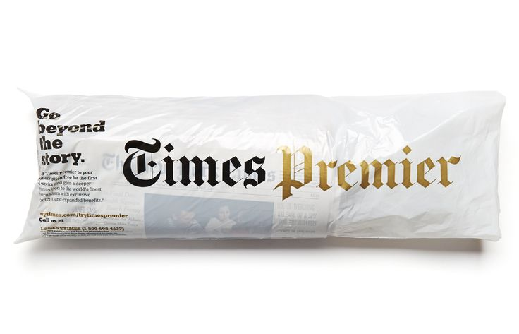 NY Times Premier - Bag