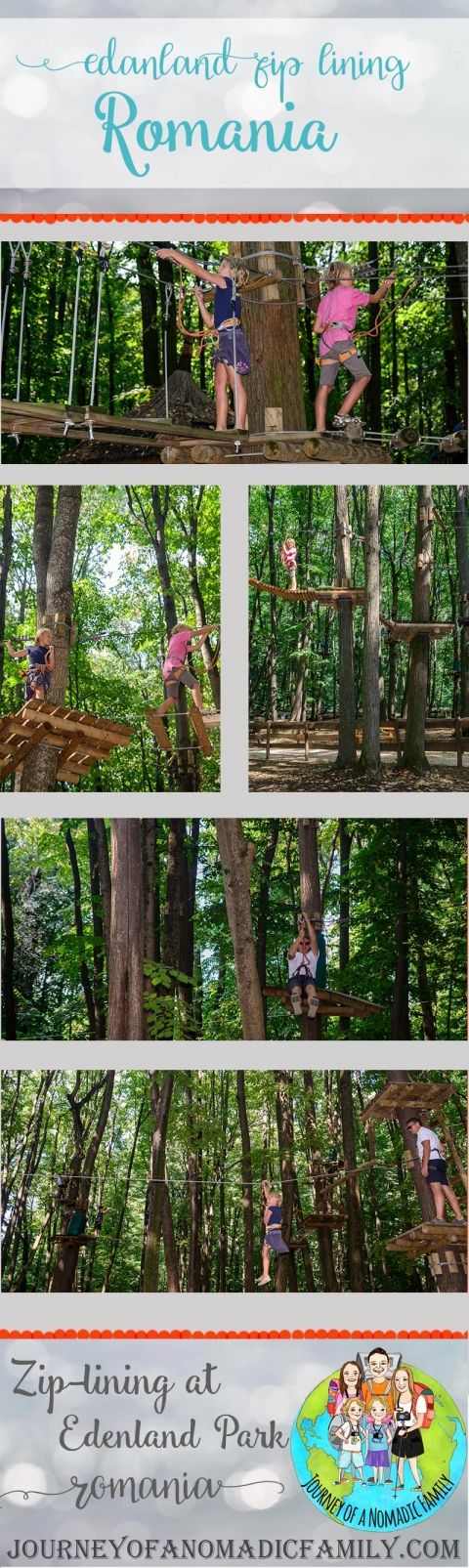 what to expect from zip-lining at Edenland in Romania.