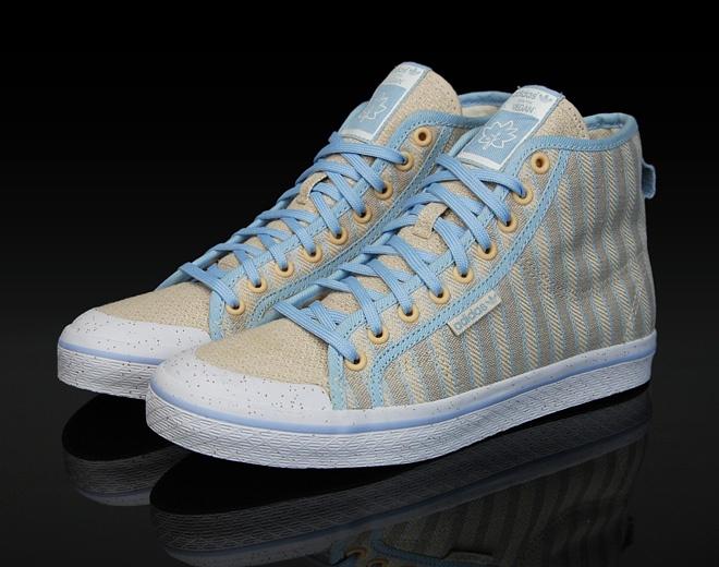 adidas honey mid - grun line - woven insoles!