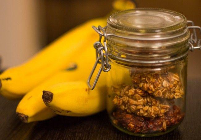 Heerlijke haver banaan koekjes