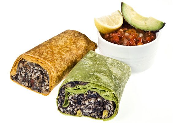 black bean burritos, ten healthy lunches for kids & adults (if you are packing lunches)