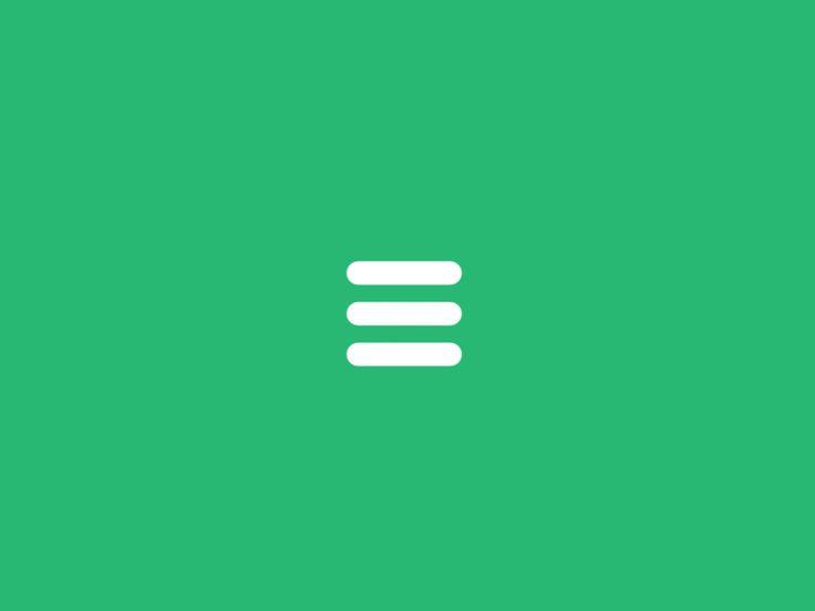 Codrops article: http://tympanus.net/codrops/2015/11/12/animating-svg-menu-icon-segment/  VisualHierarchy article: https://visualhierarchy.co/blog/improve-your-ux-functional-animations/  DigitalSyn...