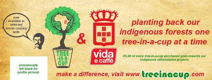 Design for the Tree-In-A-Cup and Vida e Caffe co - branding    Facebook Cover Photo Design 1
