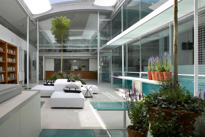 This is Ava's renovated terrace house in Hamstead Village in London