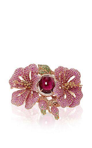 Wendy Yue Floral Diamond Bracelet