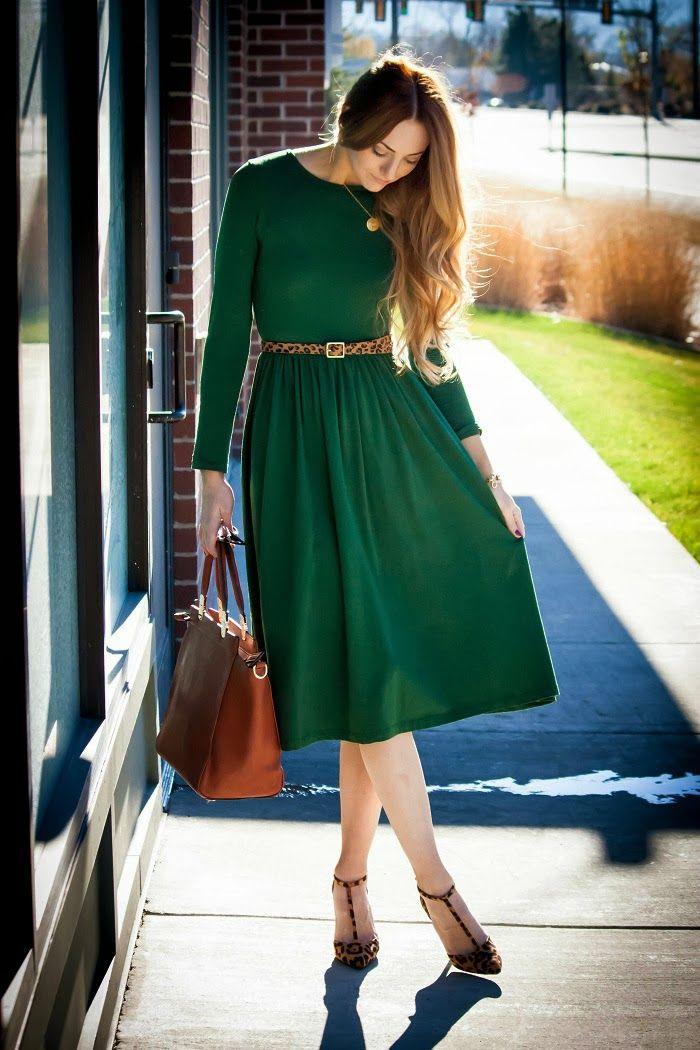 время охоты образ в зеленом платье фото живут