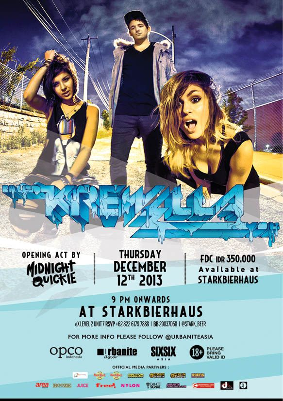 Krewella live at Stark Bierhaus 12.12.13!  More info https://twitter.com/Stark_Beer