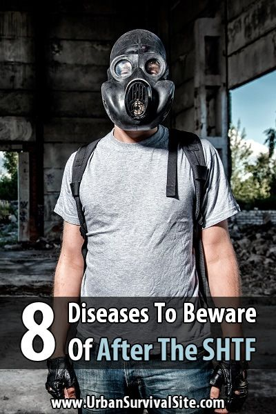 The following diseases aren't really an issue in developed countries, but after the SHTF they will be much more prevalent.