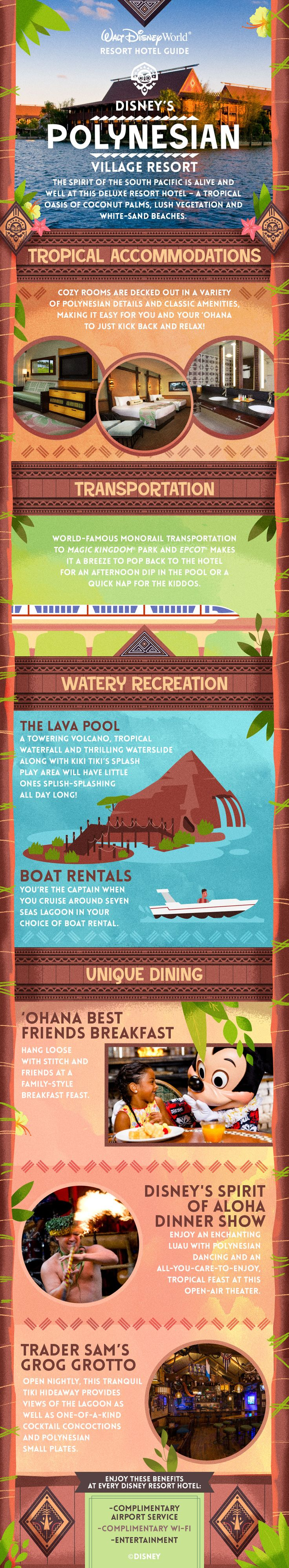 Celebrate the spirit of the South Pacific at this oasis.  Email amyh@livingwiththemagic.com to plan your next Disney Vacation