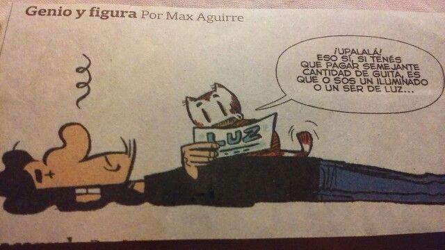 De la tira en el diario La Nación
